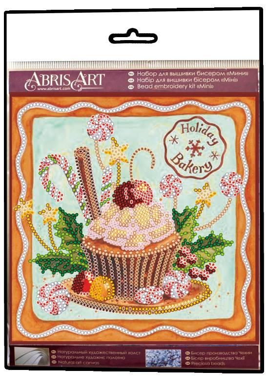 Buy Mini Bead embroidery kit - Festive sweets-AM-198_1