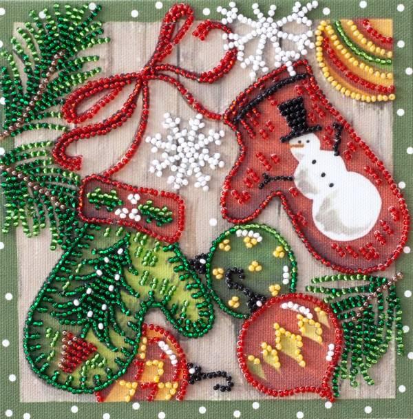 Buy Mini Bead embroidery kit - Festive trifles-AM-201