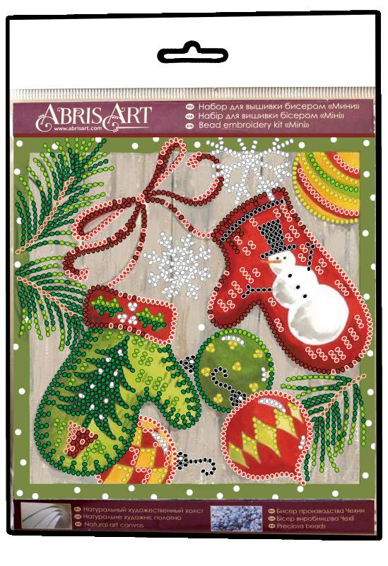 Buy Mini Bead embroidery kit - Festive trifles-AM-201_1