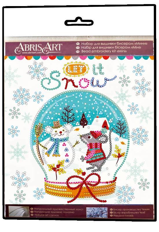 Buy Mini Bead embroidery kit - Snowiness-AM-211_1