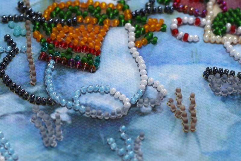 Buy Mini Bead embroidery kit - Snow friend-AM-212_5