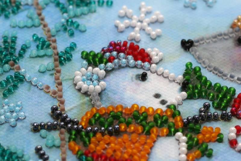 Buy Mini Bead embroidery kit - Snow friend-AM-212_6