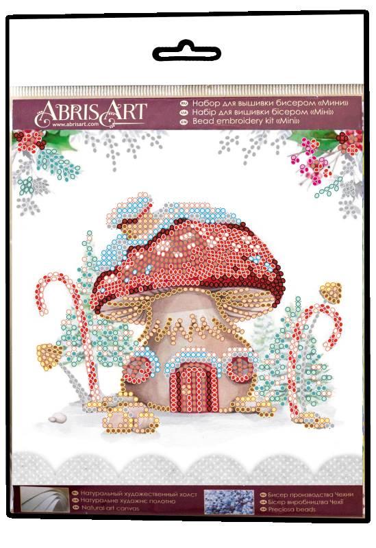 Buy Mini Bead embroidery kit - Winter magic-AM-217_1