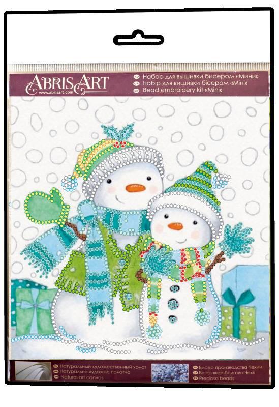 Buy Mini Bead embroidery kit - Snow Friends-AM-220_1