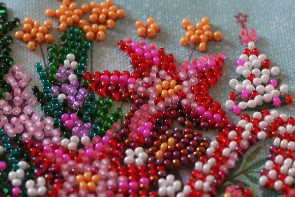 Buy Mini Bead embroidery kit - Festive tea party-AM-233_2