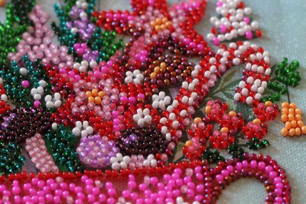 Buy Mini Bead embroidery kit - Festive tea party-AM-233_3