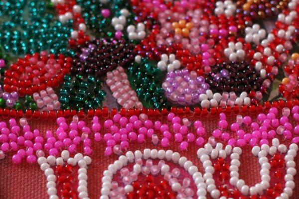 Buy Mini Bead embroidery kit - Festive tea party-AM-233_4