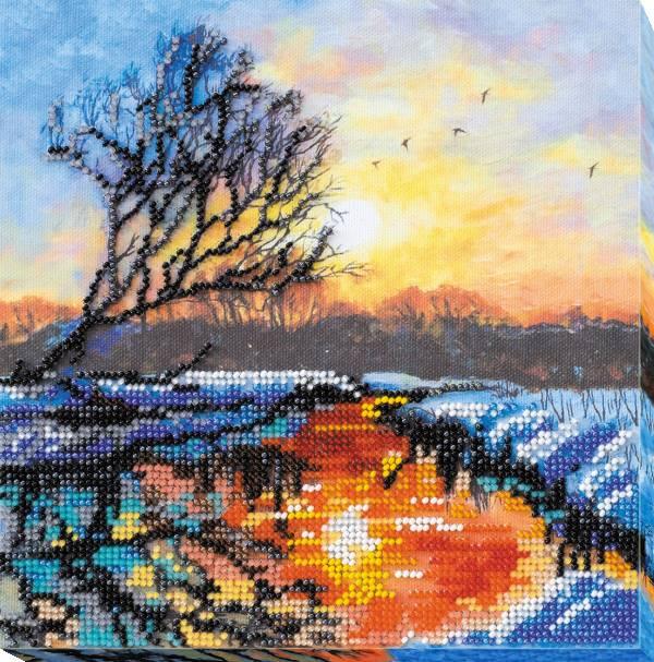 Buy Midi Bead embroidery kit - Evening Dawn-AMB-018
