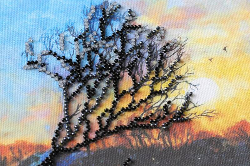 Buy Midi Bead embroidery kit - Evening Dawn-AMB-018_1