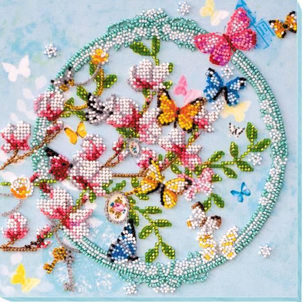 Buy Midi Bead embroidery kit - Keys of Spring-AMB-020