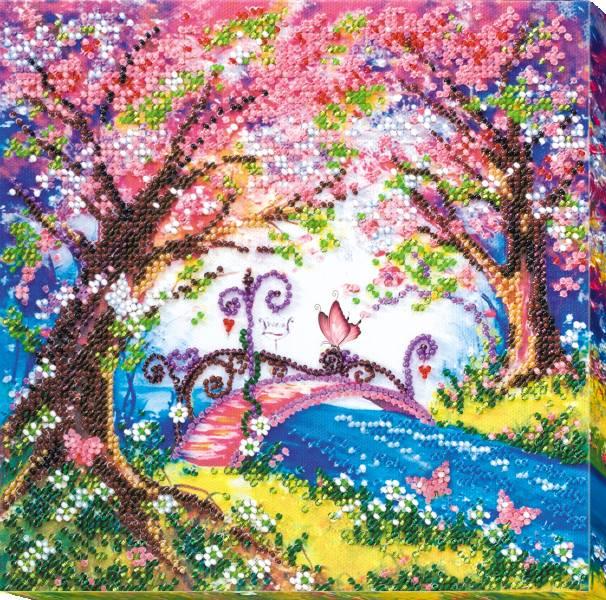 Buy Midi Bead embroidery kit - The bridge to the spring-AMB-023