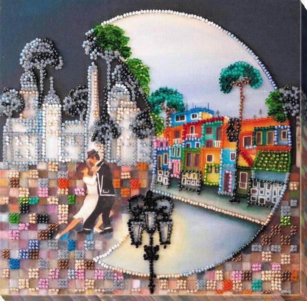 Buy Midi Bead embroidery kit - La Boca-AMB-037
