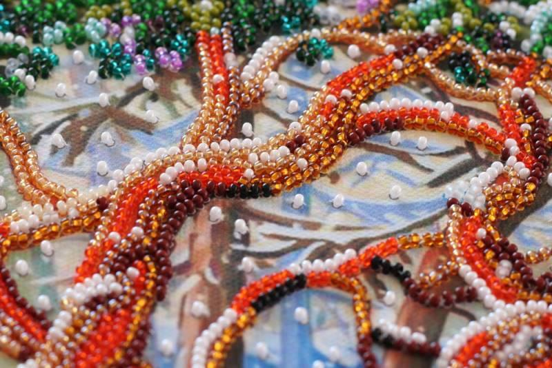Buy Midi Bead embroidery kit - First Snow-AMB-038_1