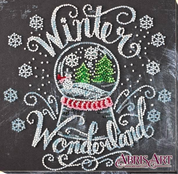 Buy Midi Bead embroidery kit - Winter Miracles-AMB-047