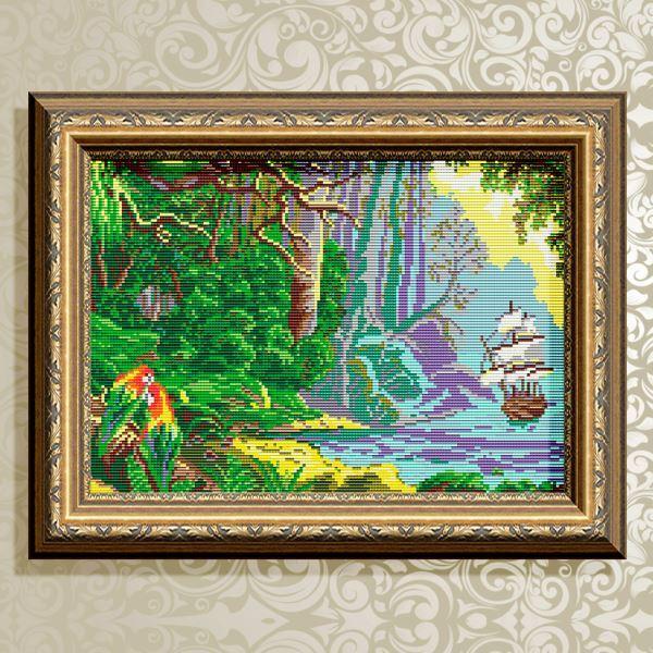 Buy Diamond painting kit - Blue Lagoon - AT3029