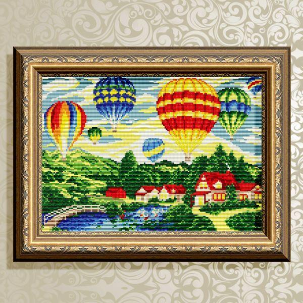 Buy Diamond painting kit - Balloons - AT3037