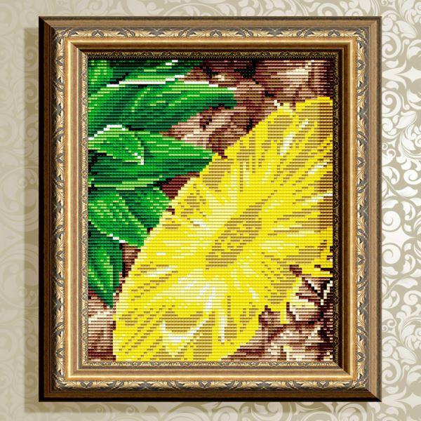 Buy Diamond painting kit - A pineapple - AT5570