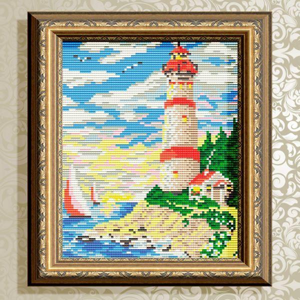 Buy Diamond painting kit - Lighthouse - AT5579