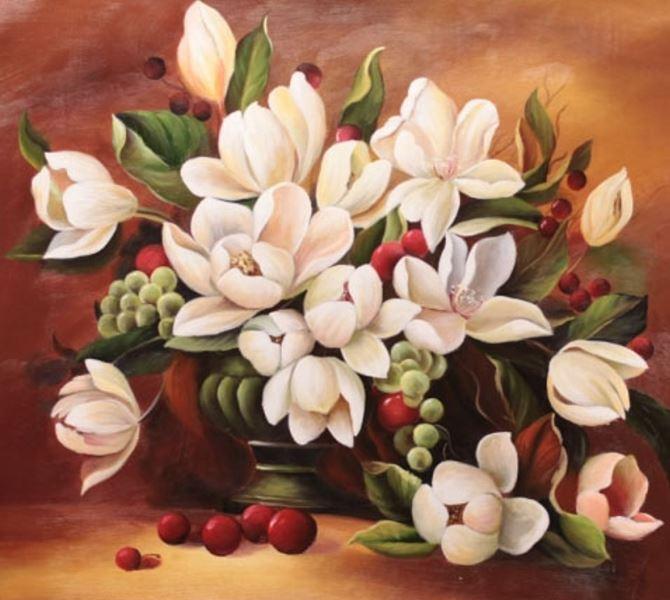 Buy Diamond painting kit-Magnolia color-DM-053