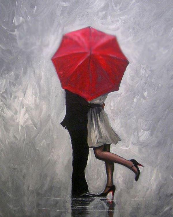 Buy Diamond painting kit-Lovers under the umonney-DM-106