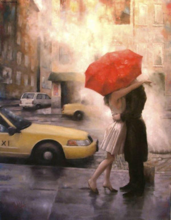 Buy Diamond painting kit-Love in a big city-DM-107