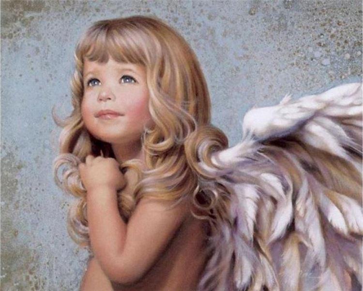 Buy Diamond painting kit-The cute angel-DM-152