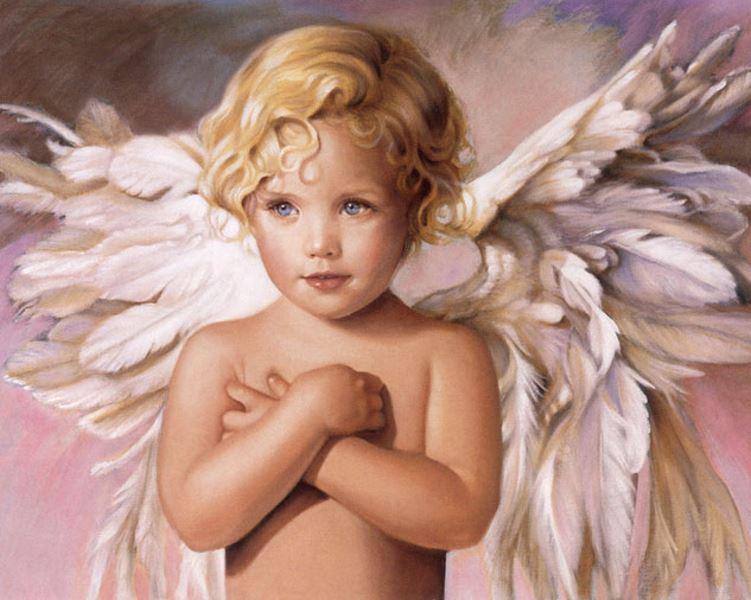 Buy Diamond painting kit-Blue-eye angel-DM-153