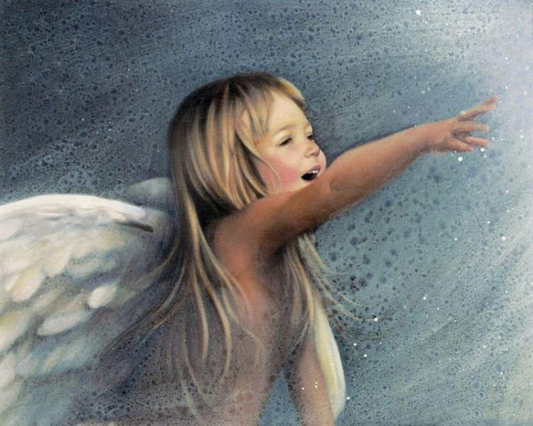 Buy Diamond painting kit-Angel laughter-DM-154
