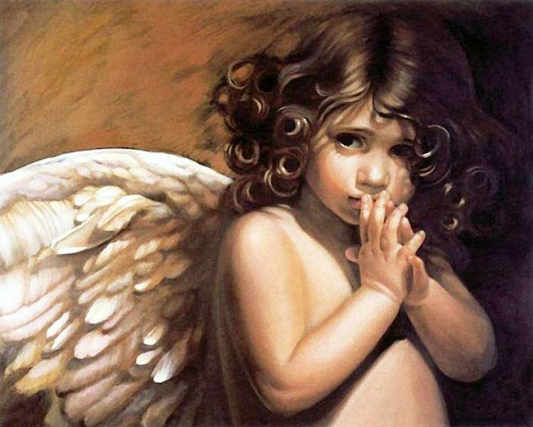 Buy Diamond painting kit-The angel look-DM-155