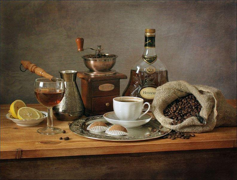 Buy Diamond painting kit-Coffee composition-DM-161