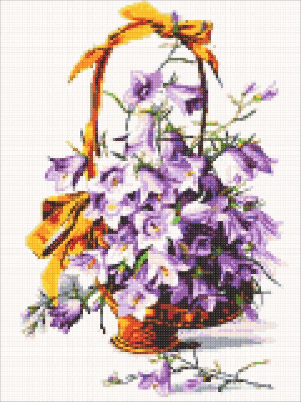 Diamond painting kit-Purple bells-DM-321