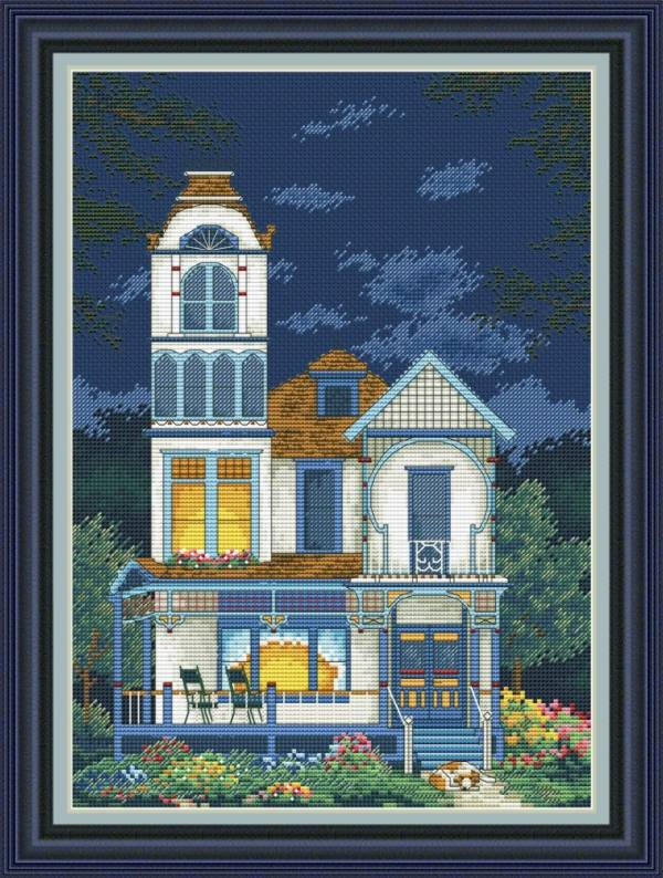 Buy Cross stitch kit My cozy home-VN-078